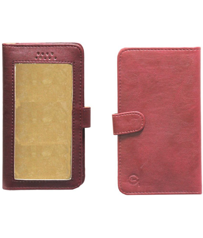 Microsoft Lumia 950 Holster Cover by Jojo - Red