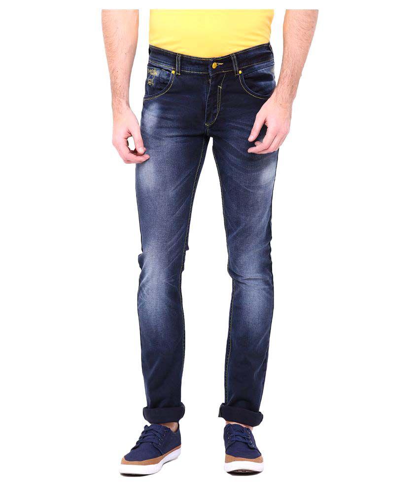 Duke Blue Regular Fit Jeans