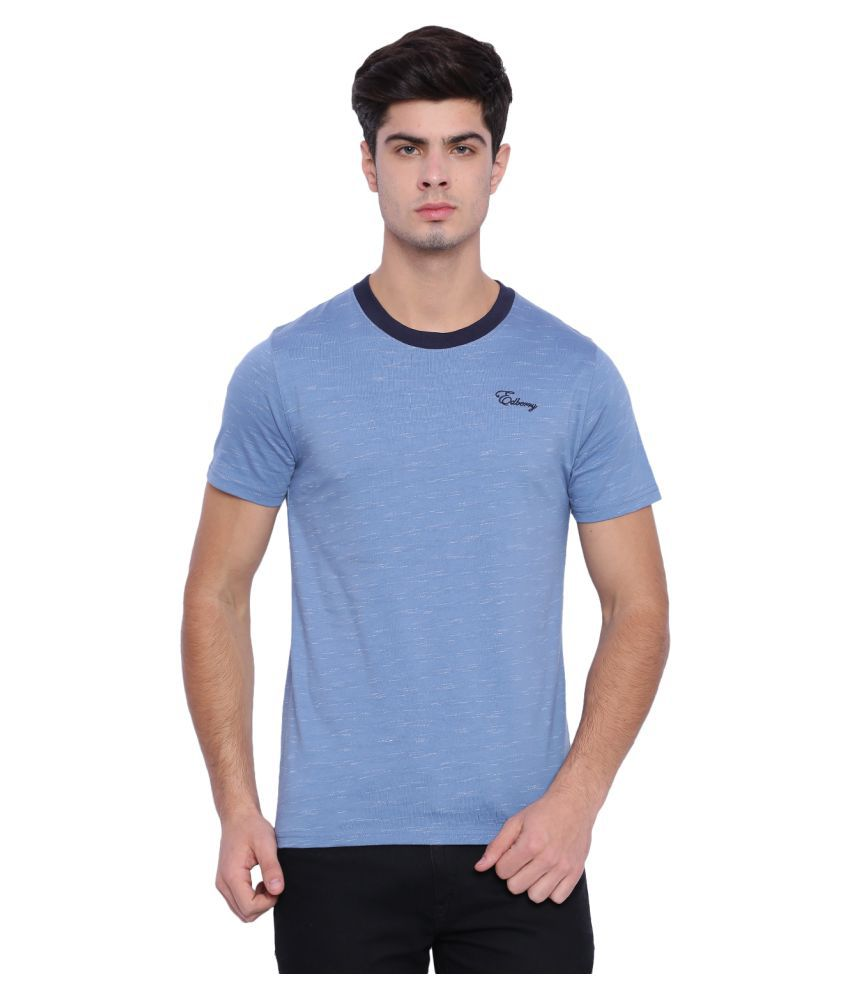 Edberry Navy Round T-Shirt