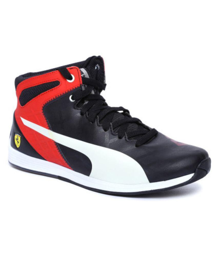 Destierro Montaña Kilauea Corresponsal  Puma evoSPEED 1.4 SF Mid 10 Lifestyle Black Casual Shoes - Buy Puma  evoSPEED 1.4 SF Mid 10 Lifestyle Black Casual Shoes Online at Best Prices  in India on Snapdeal