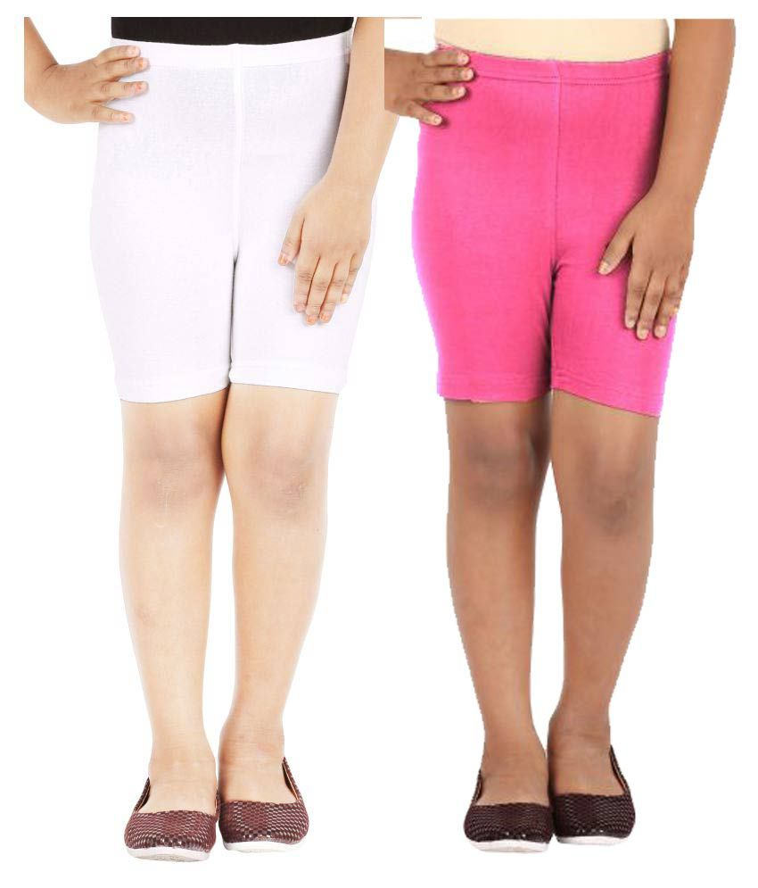 Lula Girls Spandex Shorts -Pack of 2 (CB01020216233010)