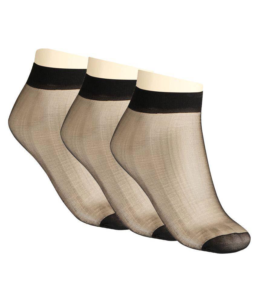 Muquam Black Socks Pack of 3