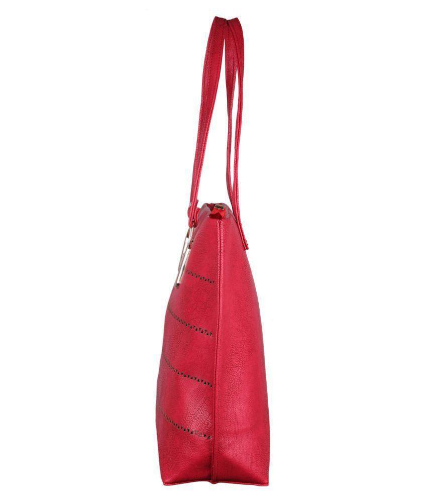 641bbc3eaea Speed X Fashion Maroon P.U. Shoulder Bag - Buy Speed X Fashion ...