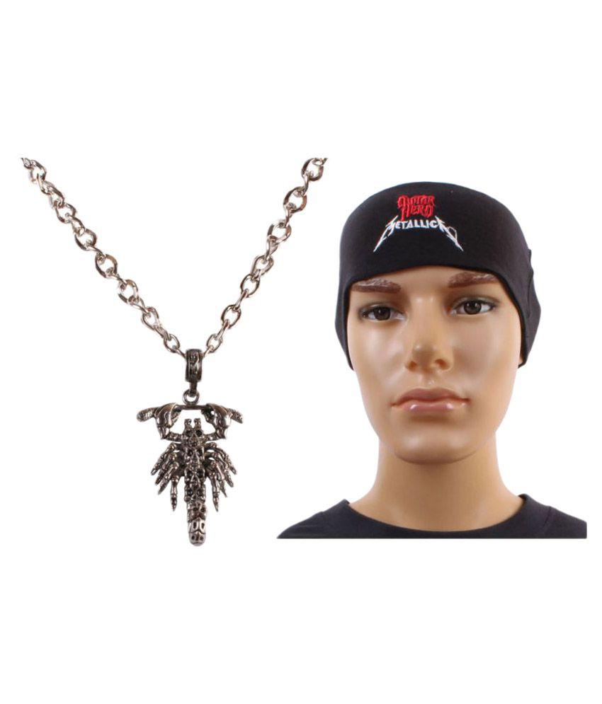 Sushito Silver Fashion Scarpio Pendent with Headwrap