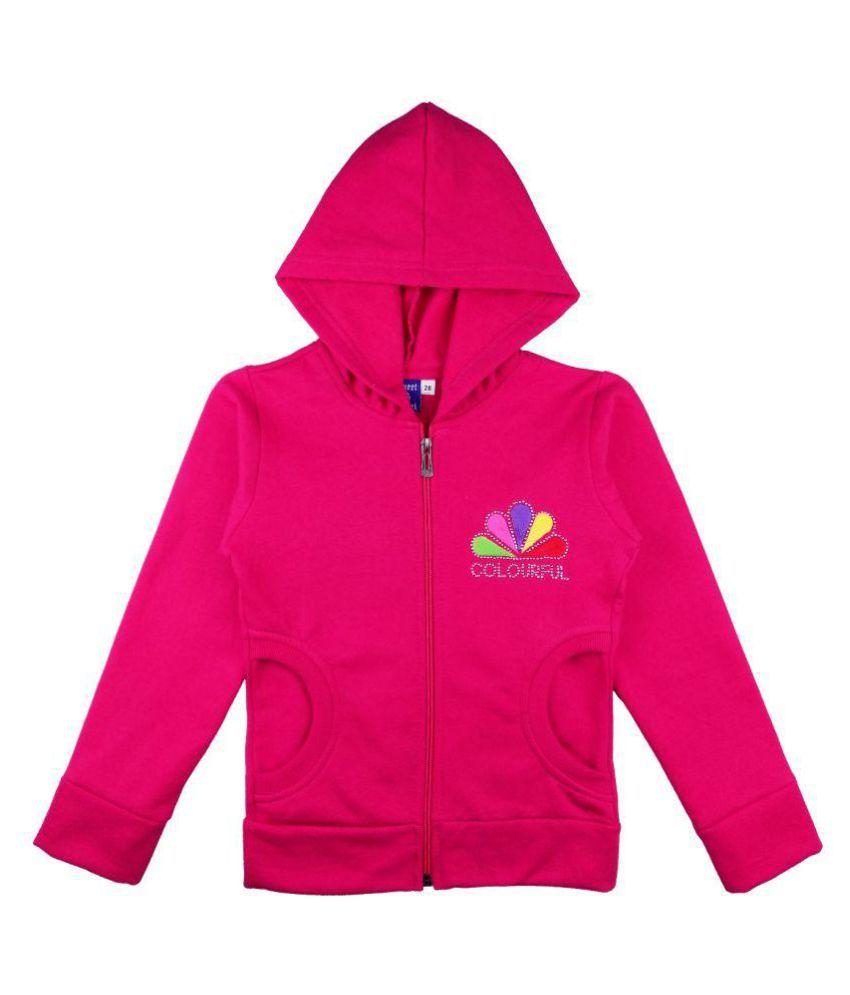 Sweet Angel Pinkcolour 100% Cotton Sweatshirts