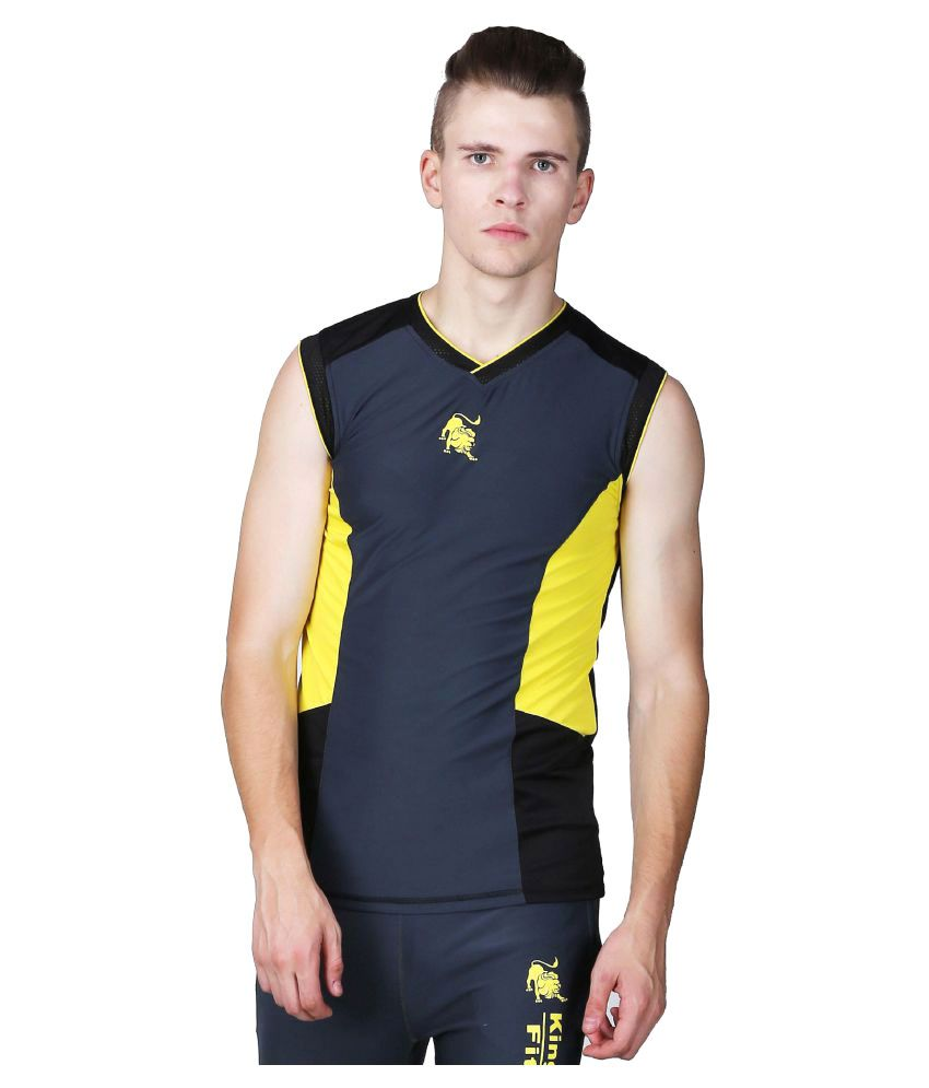 L'appel Du Vide Navy Polyester T Shirt