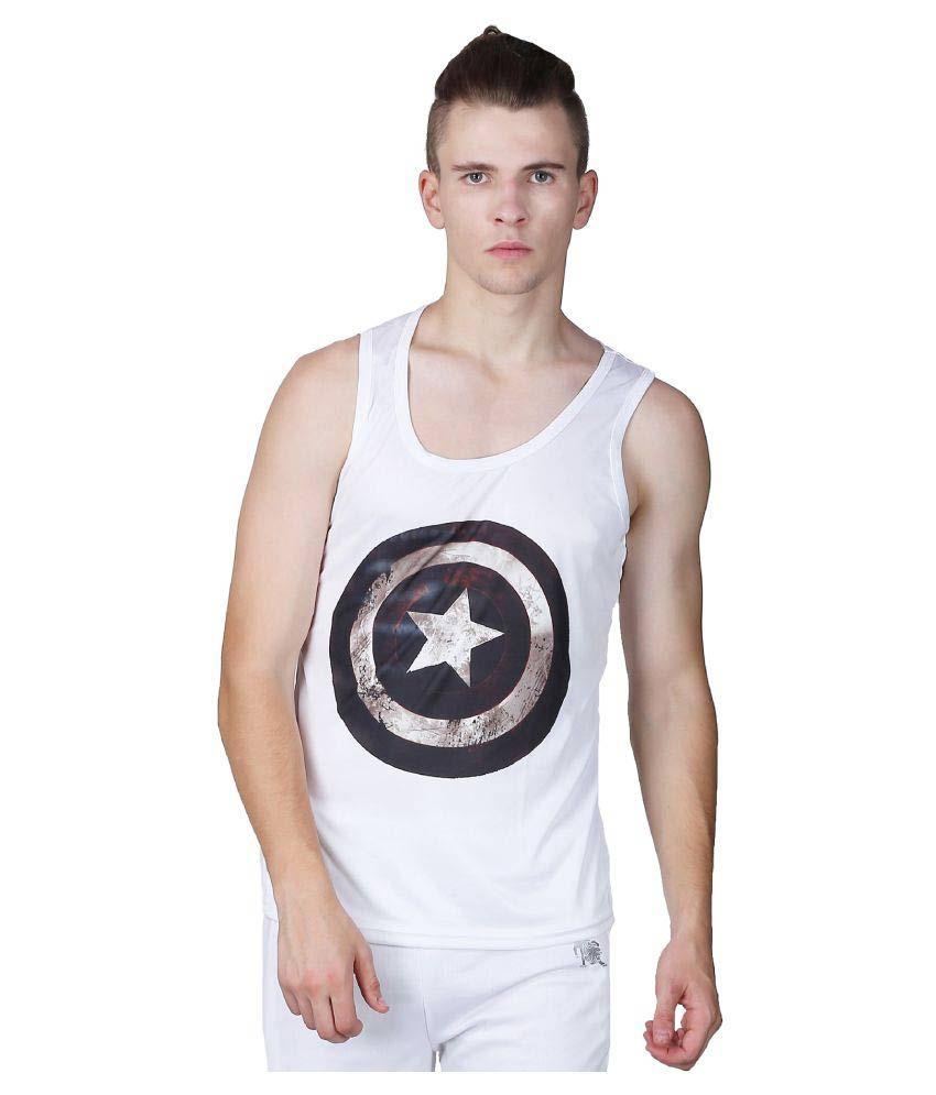 L'appel Du Vide White Polyester T Shirt