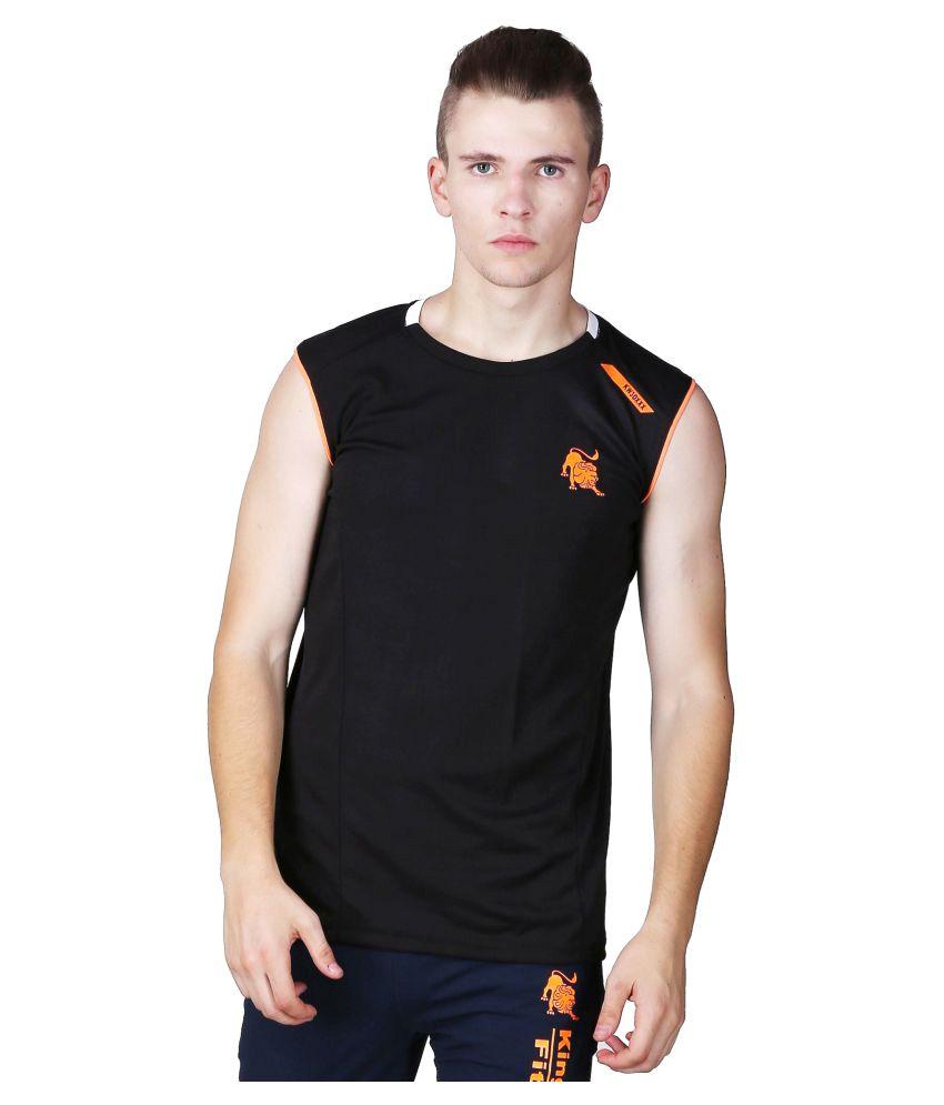 L'appel Du Vide Black Polyester T Shirt