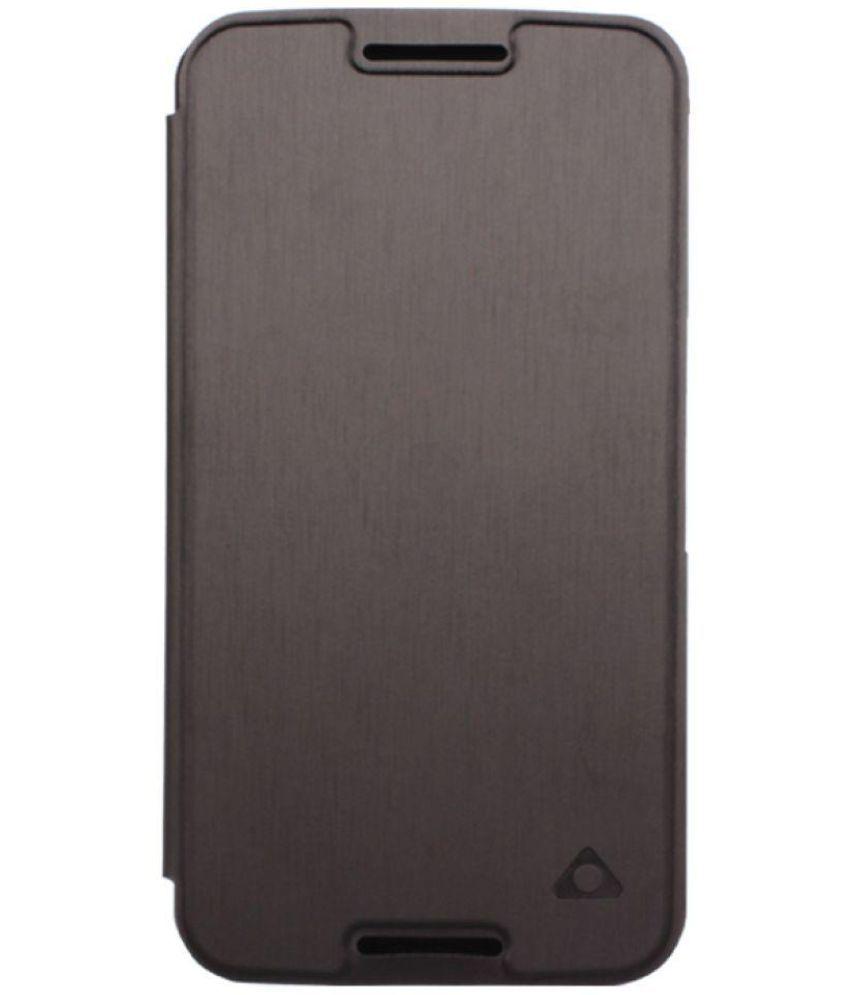 half off 9a43c 0af2f Motorola Nexus 6 Flip Cover by STUFFCOOL - Black