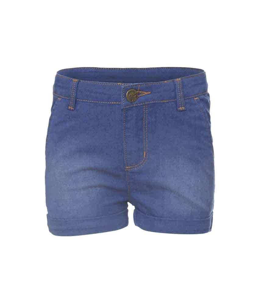 Girls Blue Short by Poney