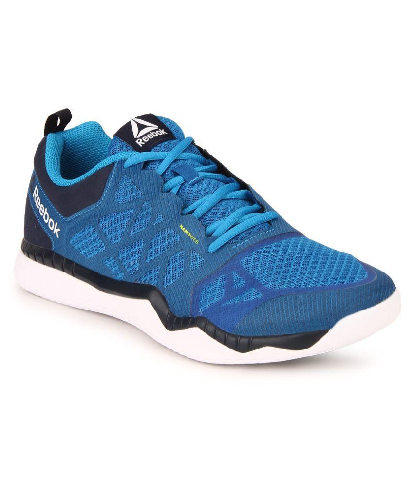 6225f397dbdd Reebok Reebok Zprint Train Blue Training Shoes - Buy Reebok Reebok ...