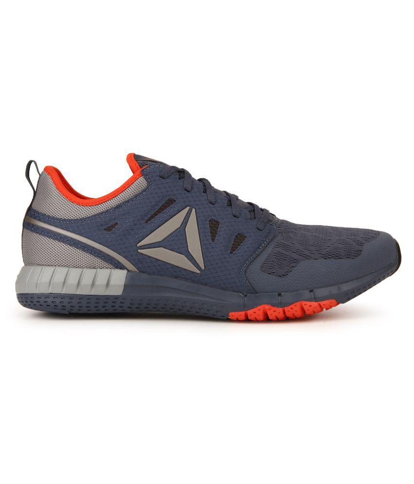 5e80d5139af Reebok Zprint 3D Gray Running Shoes Reebok Zprint 3D Gray Running Shoes ...