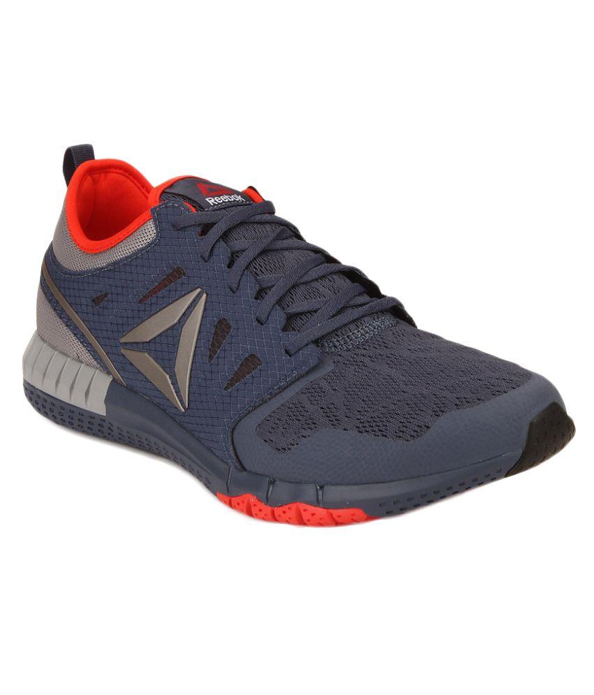 Reebok Zprint 3D Gray Running Shoes