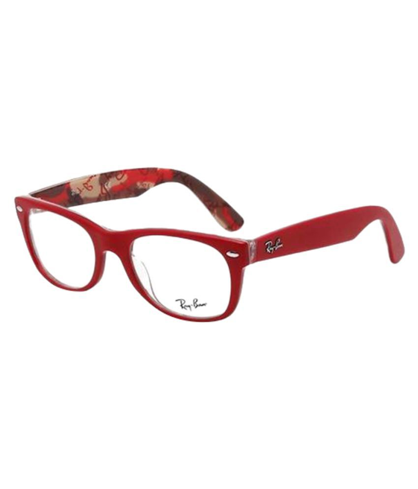 Ray-Ban Red Oval Spectacle Frame RB5184-5406