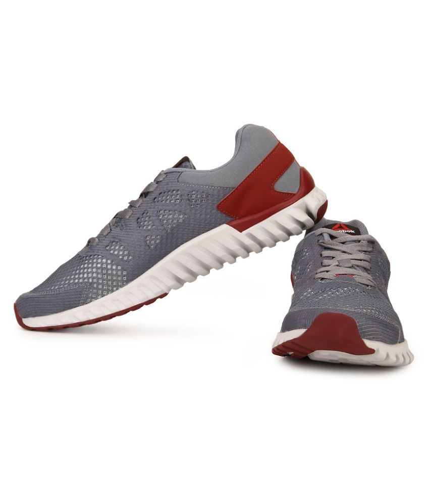 Reebok TWISTFORM BLAZE 2.0 MTM Gray Running Shoes - Buy Reebok ...