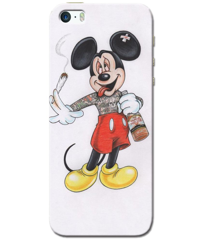 Apple iPhone 5 Printed Cover By Cell First