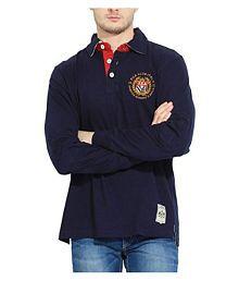 Fila Blue V-Neck T-Shirt