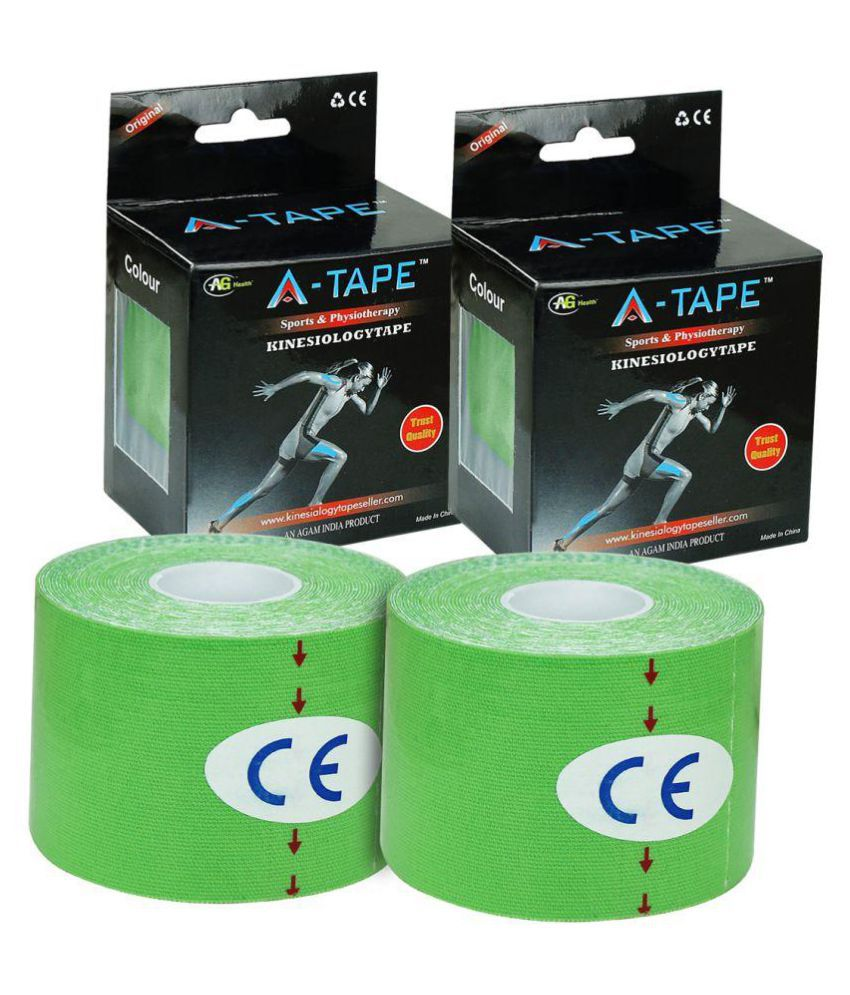 A-TAPE Green Thigh Supports