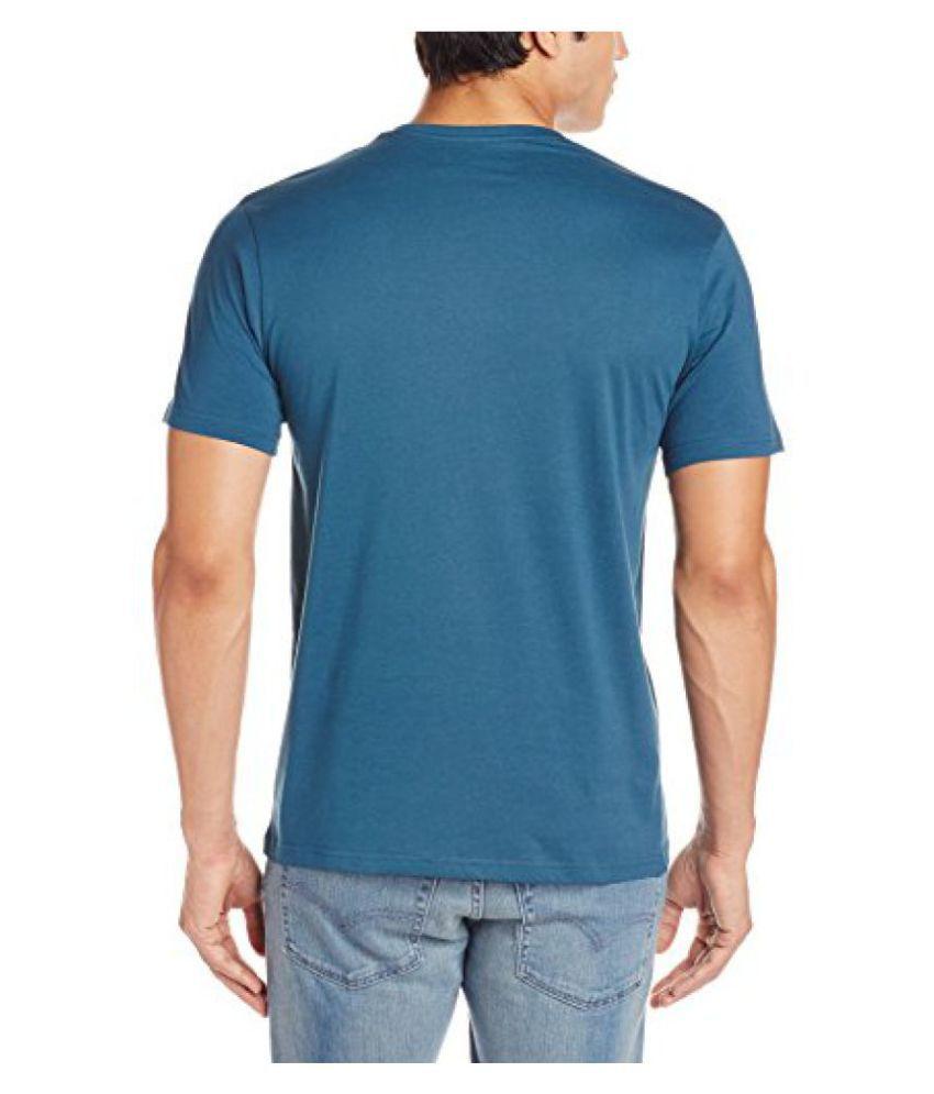 Locomotive Blue Round T-Shirt