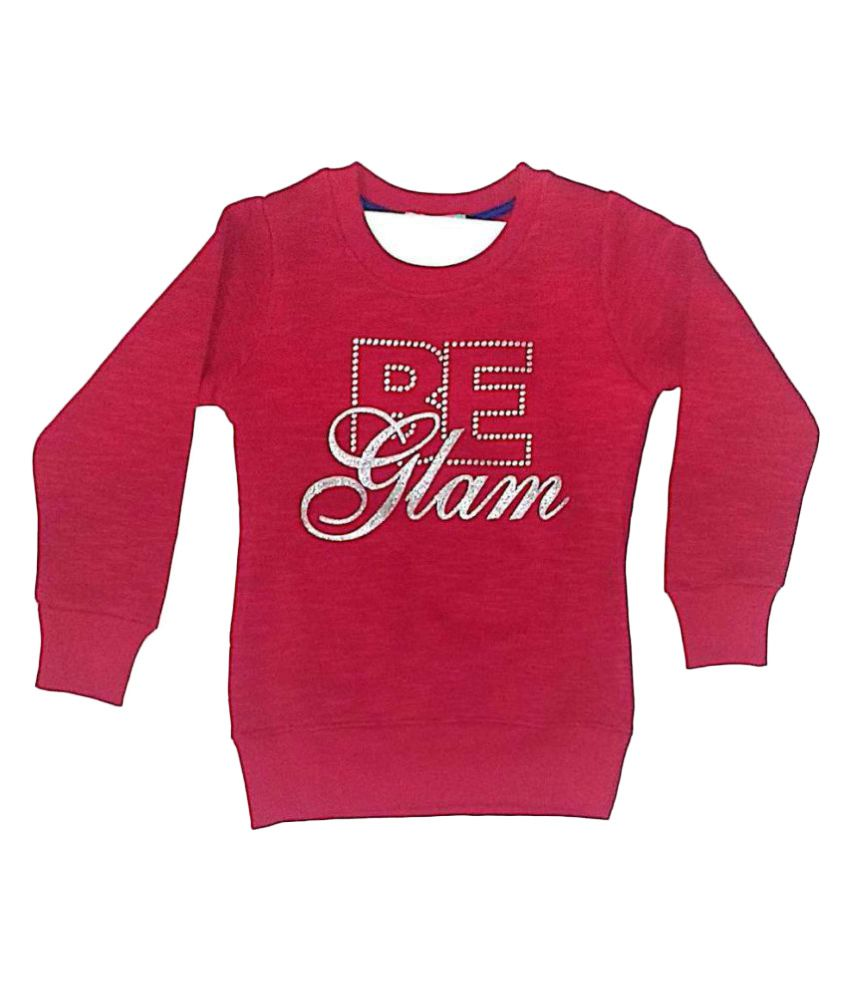 Cuddlezz Pink Fleece Sweatshirt