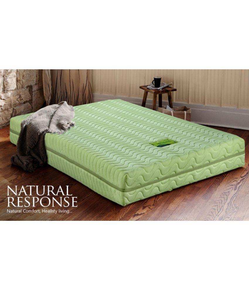 King Koil Natural Response Mattress Single 5 Latex Online At Low Price