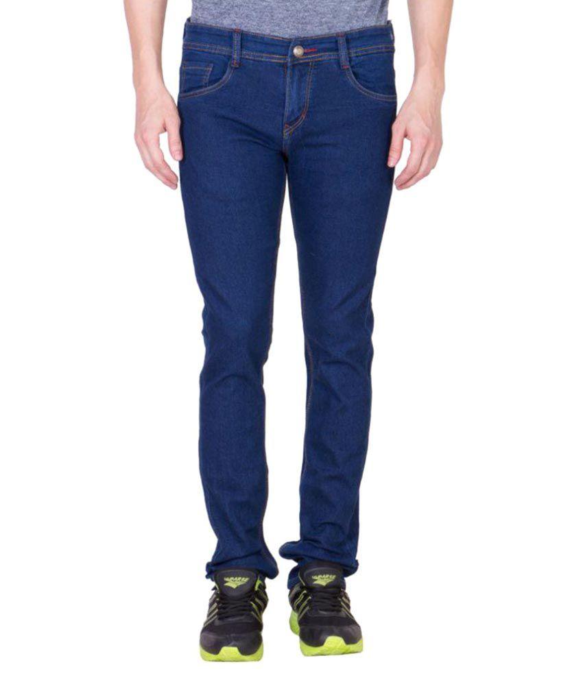Maxxone Blue Regular Fit Jeans