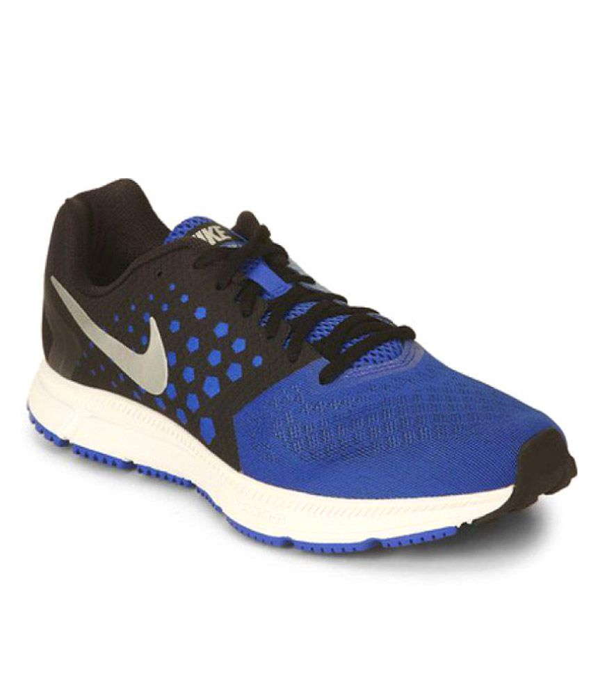 e5e41de3f66cf Nike Zoom Span Blue Running Shoes - Buy Nike Zoom Span Blue Running Shoes  Online at Best Prices in India on Snapdeal