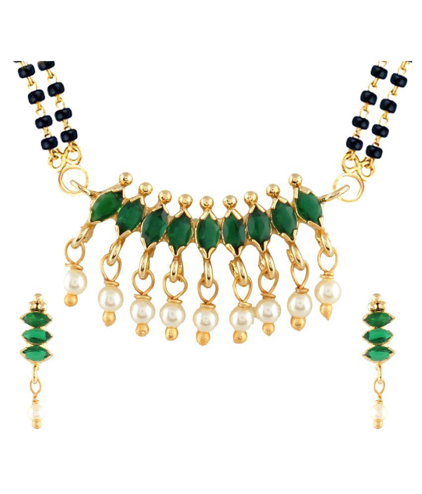 Parinaaz CZ Mangalsutra Set For Women