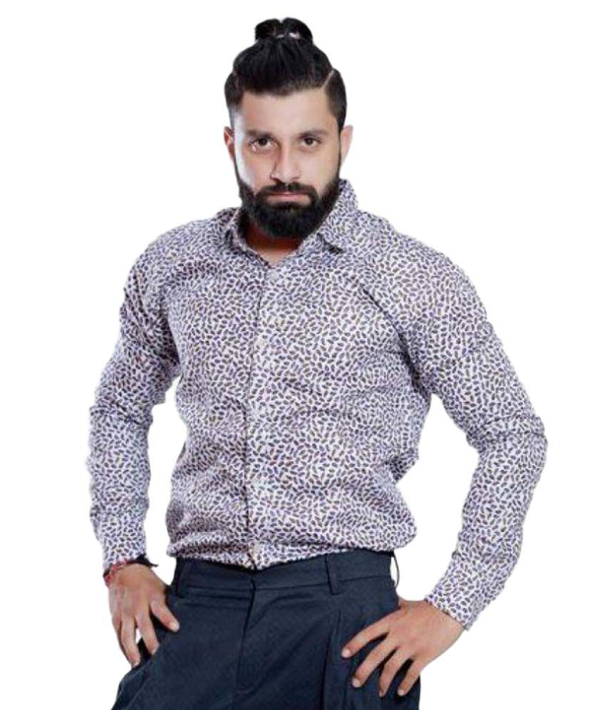 Rellin Multi Casuals Slim Fit Shirt