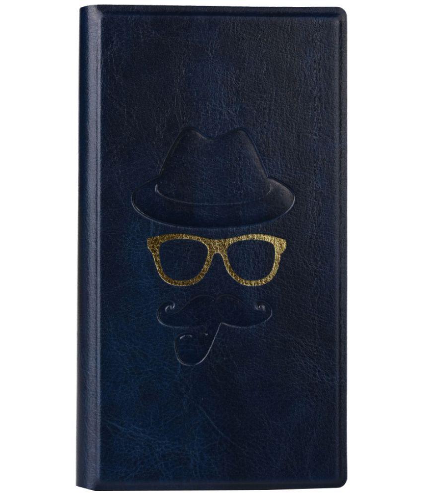 LG K10 LTE Flip Cover by Jojo - Blue