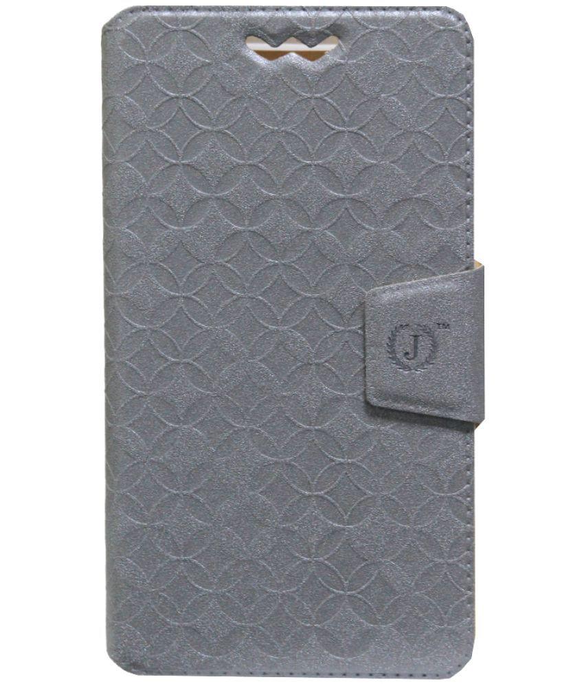 LeTv Le 2 Flip Cover by Jojo - Silver