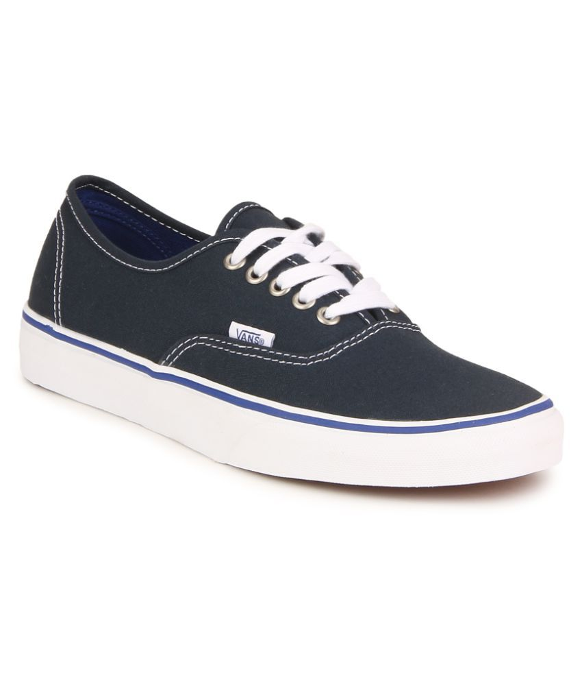 786f99cd51a Vans Authentic Sneakers Navy Casual Shoes - Buy Vans Authentic Sneakers  Navy Casual Shoes Online at Best Prices in India on Snapdeal