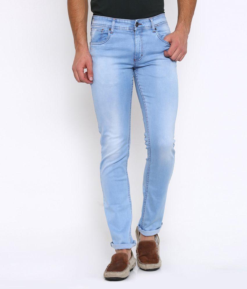 Vintage Light Blue Slim Jeans