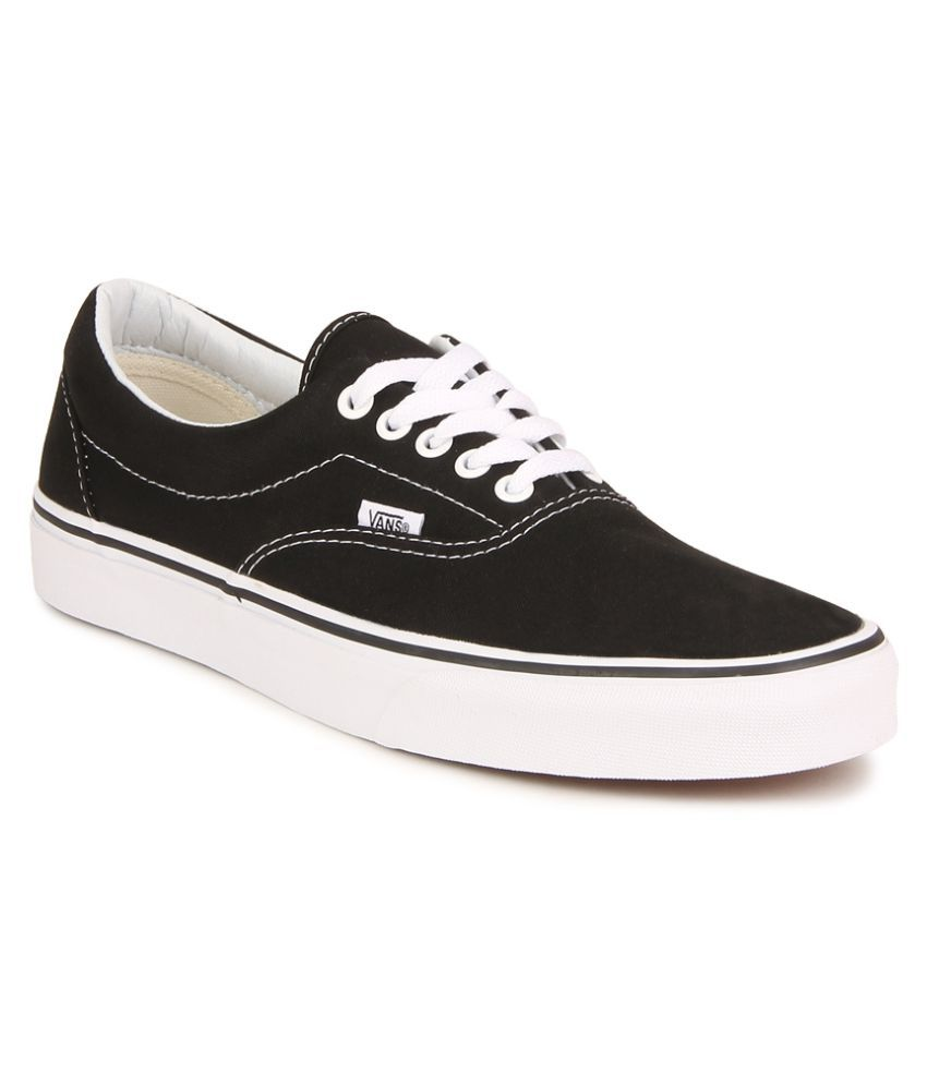 b0f7854e415b32 Vans Era Sneakers Black Casual Shoes - Buy Vans Era Sneakers Black Casual  Shoes Online at Best Prices in India on Snapdeal