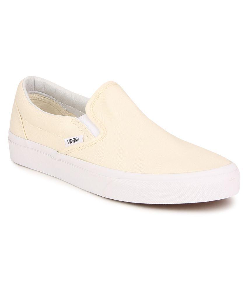 vans classic beige