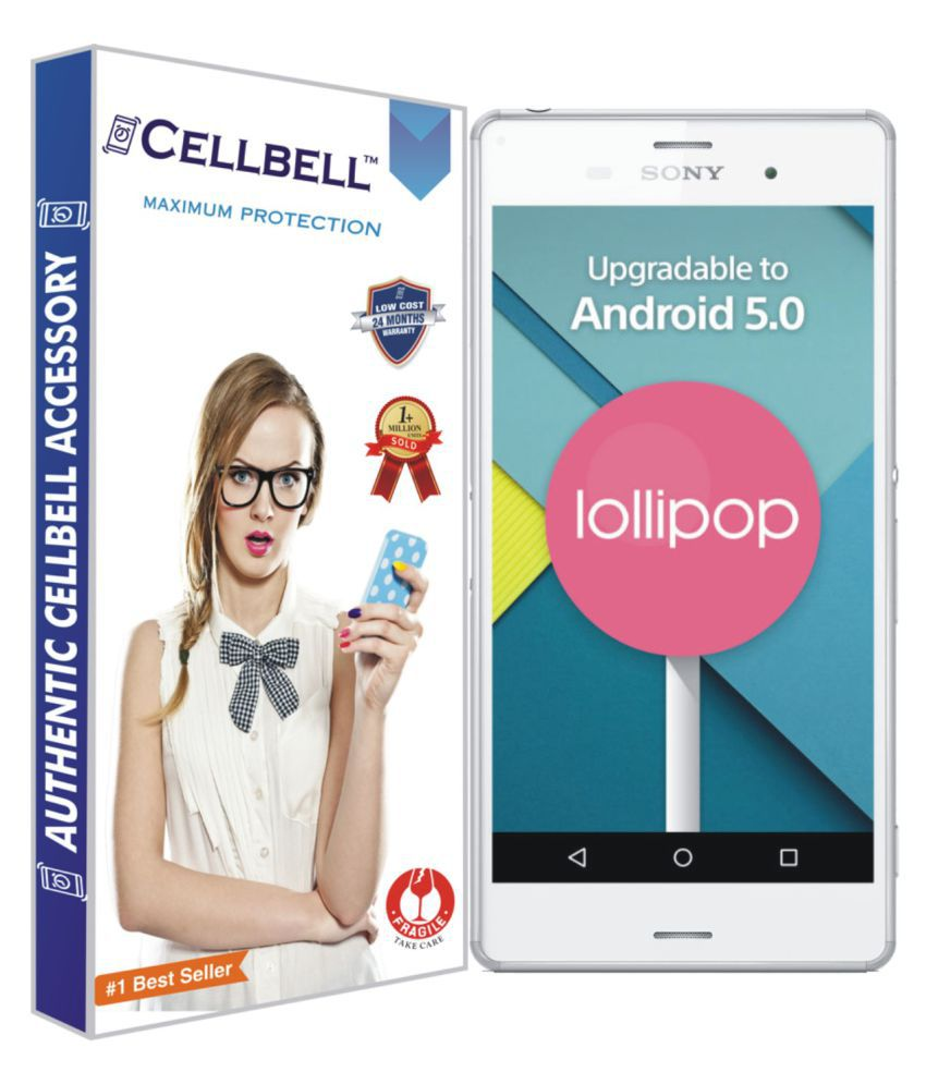 Sony Xperia Z3+ Tempered Glass Screen Guard By Cellbell