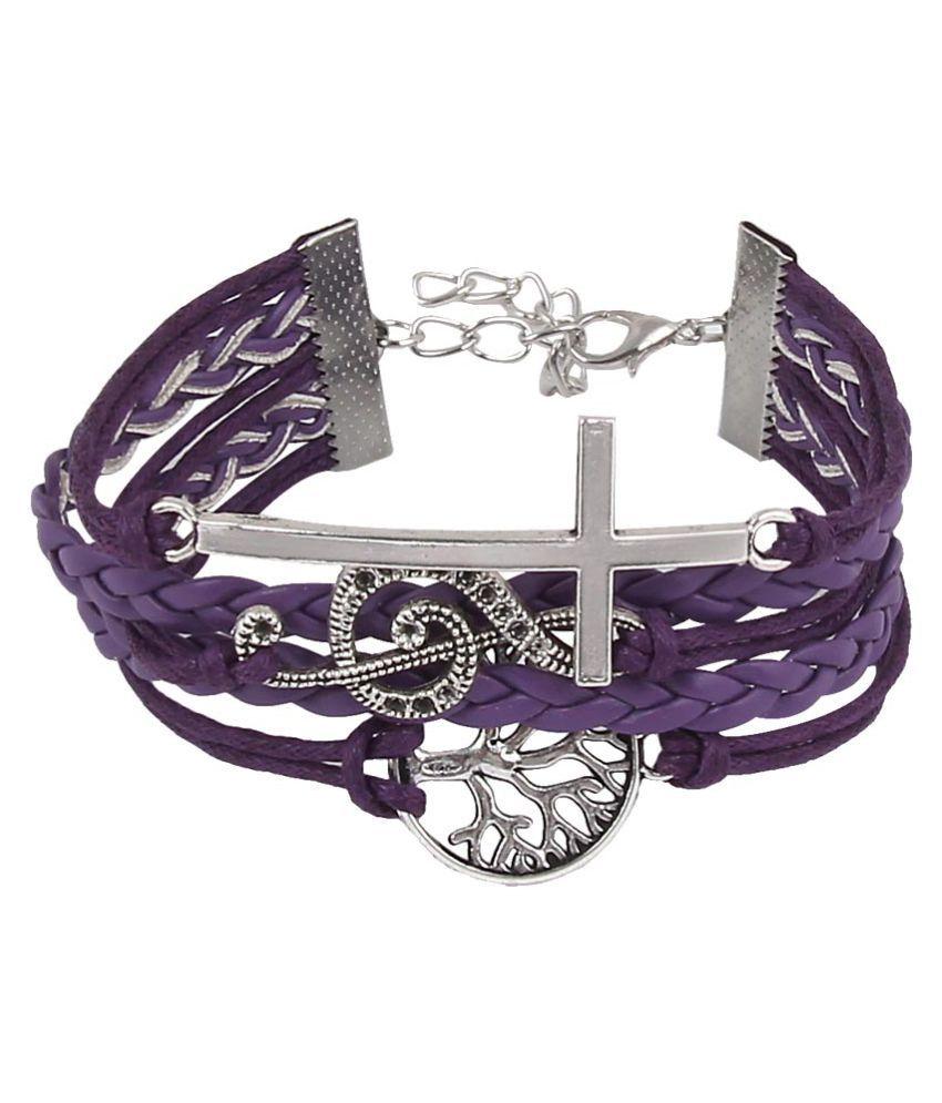 Jewelizer Alloy Bracelet For Women