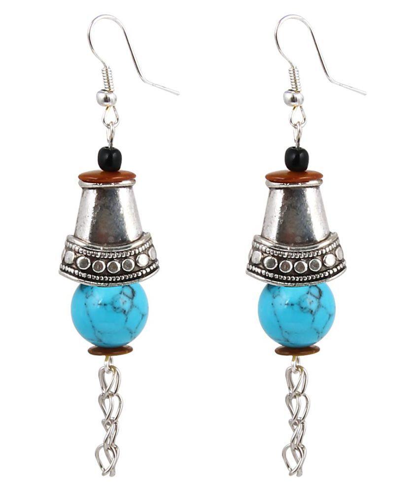 Jewelizer Multicolour Drop Earrings Single Pair