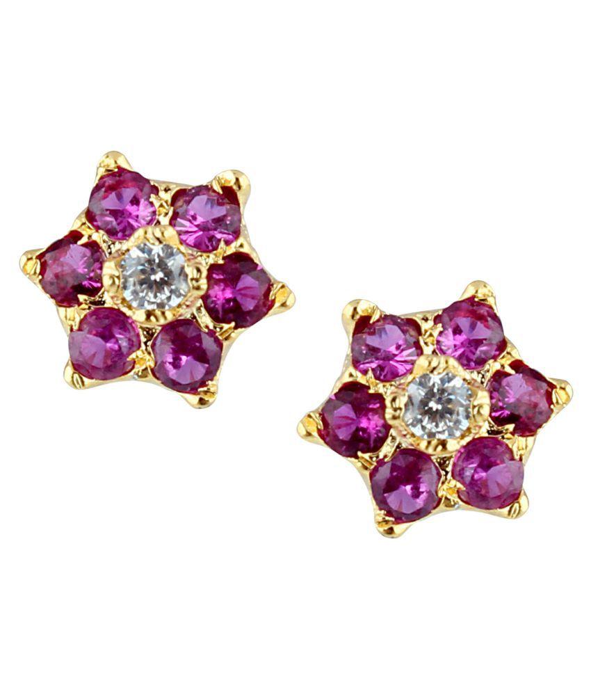 Parinaaz CZ Stud Earring for women