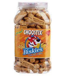 Choostix Biskies With Real Chicken, 500gm All Dry