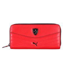 Puma Red Wallet