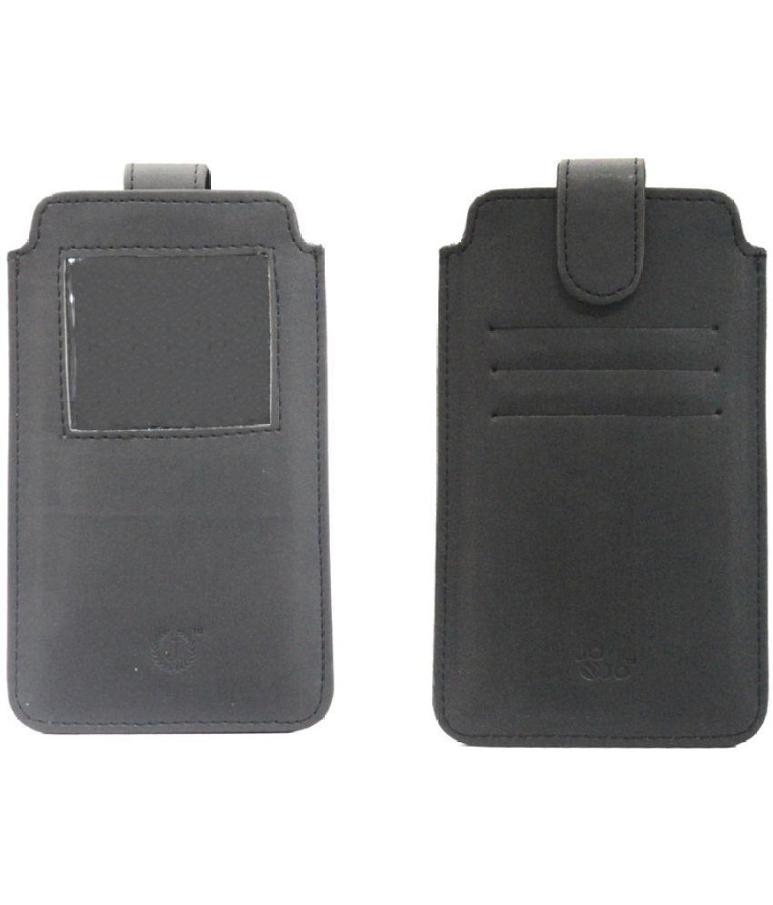 Samsung Galaxy Note Flip Cover by Jojo - Black