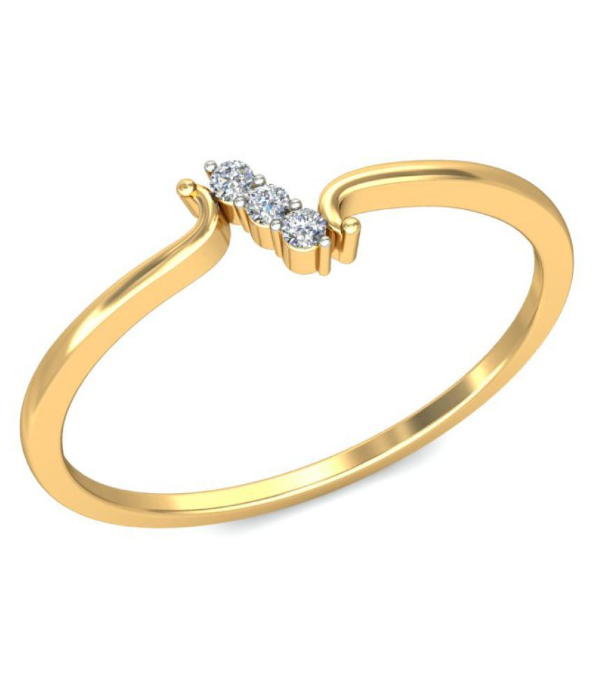 P.N.Gadgil Jewellers 18k Yellow Gold Ring