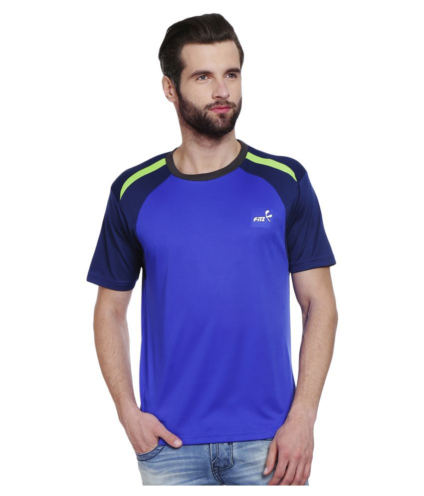 Fitz Blue Round T-Shirt