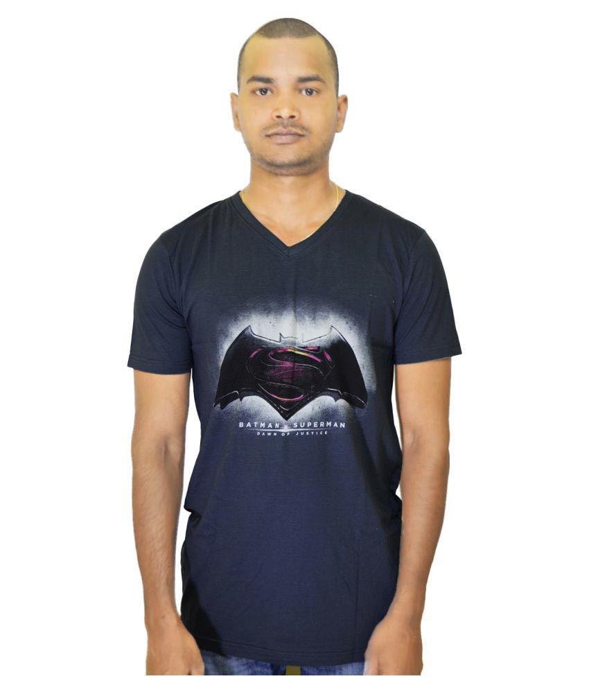 3Gan Clothing Grey V-neck T-Shirt