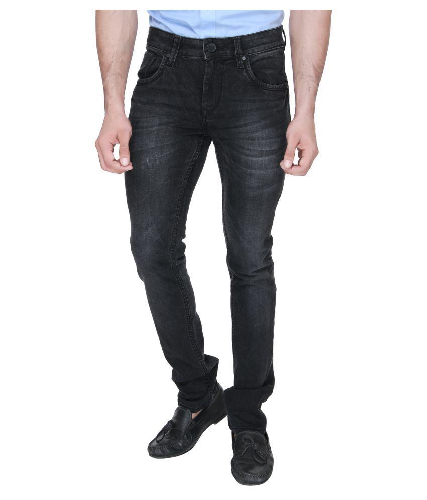 Jadeblue Black Slim Jeans