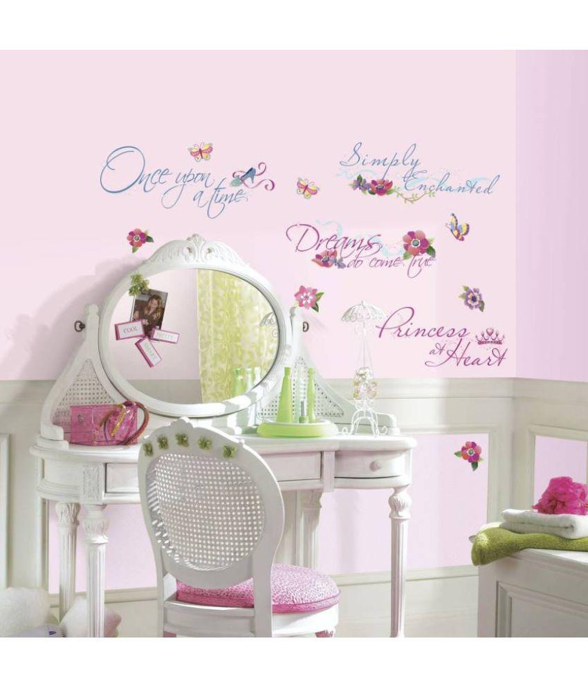 Asian Paints Disney Princess Princess Quotes Vinyl Wall Stickers