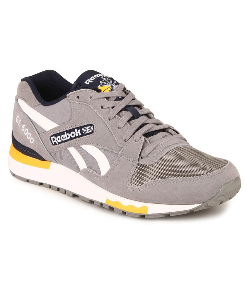 417764affb82c0 Reebok GL 6000 PP Gray Running Shoes - Buy Reebok GL 6000 PP Gray Running  Shoes Online at Best Prices in India on Snapdeal