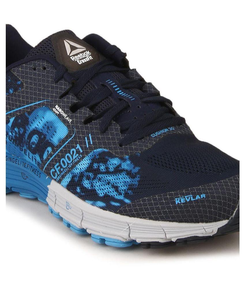 ... Reebok R CROSSFIT ONE CUSHION3.0 Navy Running Shoes ...