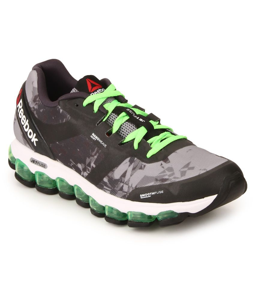 brand new b3c00 0a7ea Reebok ZJET SOUL Gray Running Shoes - Buy Reebok ZJET SOUL Gray Running  Shoes Online at Best Prices in India on Snapdeal